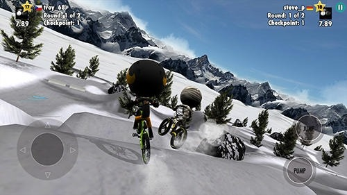 Stickman Bike Battle Android Game Image 2