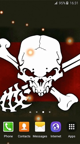 Pirate Flag Android Wallpaper Image 3