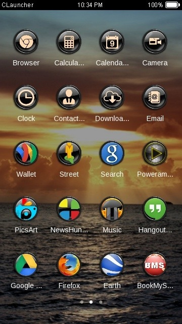 Sunlight CLauncher Android Theme Image 2