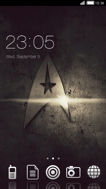 Star Trek CLauncher Android Theme Image 1