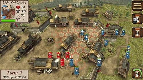 Shogun's Empire: Hex Commander Android Game Image 3