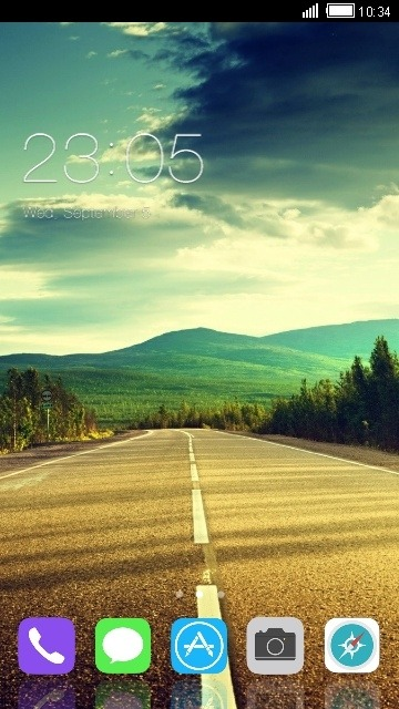 Highway CLauncher Android Theme Image 1