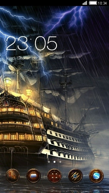 Ship CLauncher Android Theme Image 1