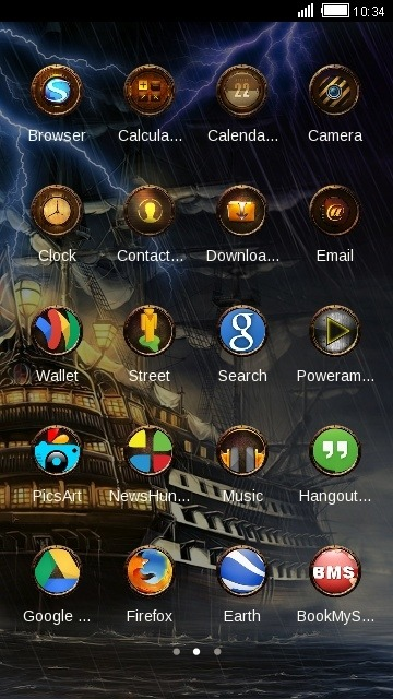 Ship CLauncher Android Theme Image 2