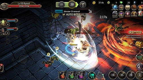 Age Of Dundeon: Endless Battle Android Game Image 3