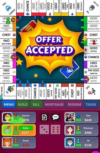 Monopoly Android Game Image 3