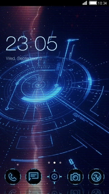 Electrical CLauncher Android Theme Image 1