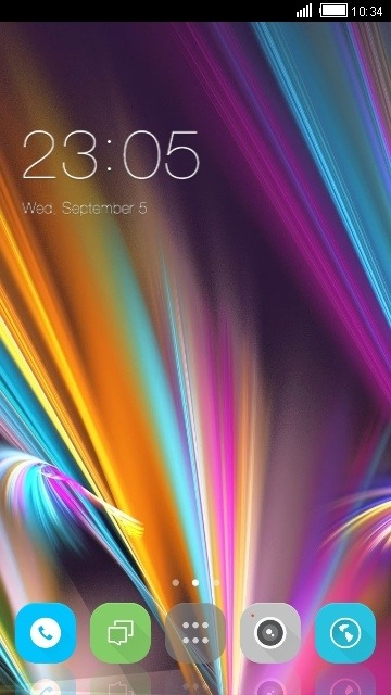 Colors CLauncher Android Theme Image 1