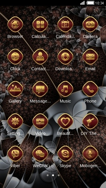 Abstract CLauncher Android Theme Image 2