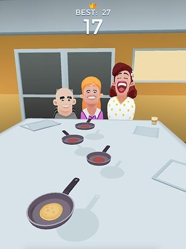 Flippy Pancake Android Game Image 2