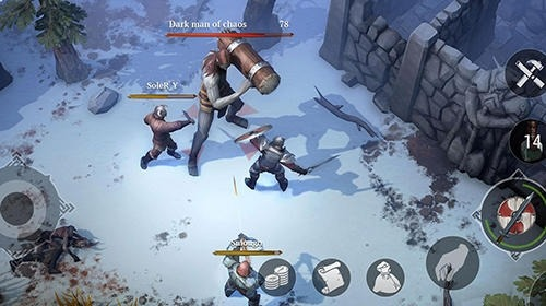 Frostborn Android Game Image 2