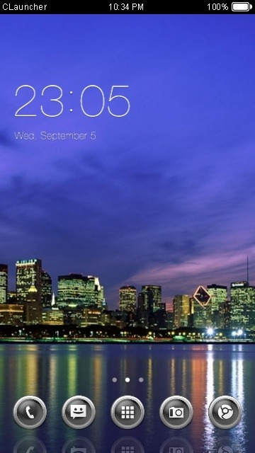 City CLauncher Android Theme Image 1