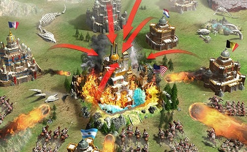 Rise Of Empires: Ice And Fire Android Game Image 3