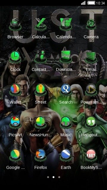 Justice League CLauncher Android Theme Image 2