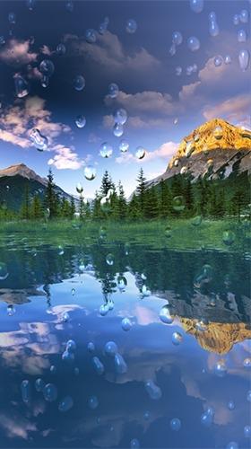 Rain Drop Android Wallpaper Image 1