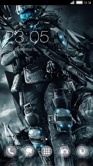 Titan CLauncher Android Theme Image 1