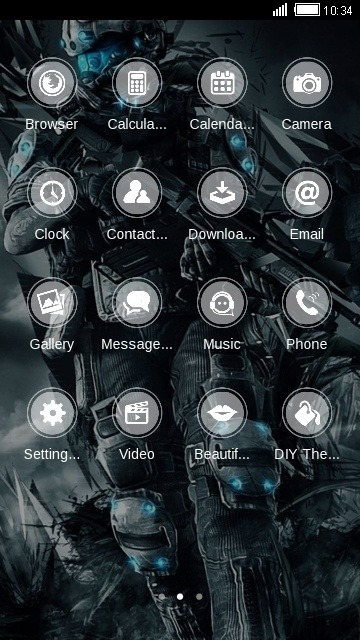 Titan CLauncher Android Theme Image 2