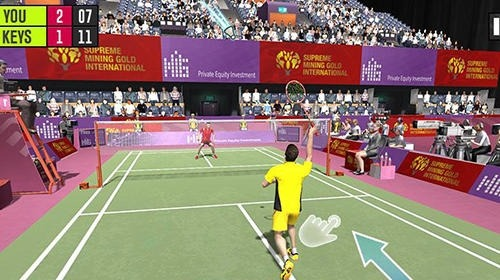 Badminton Battle: Badminton Championship Android Game Image 3