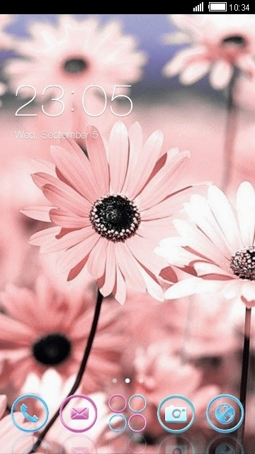 Daisy CLauncher Android Theme Image 1