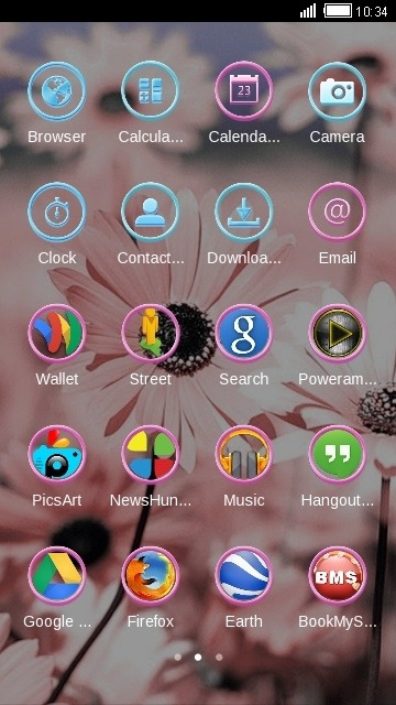 Daisy CLauncher Android Theme Image 2