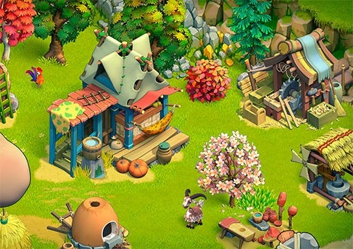 Stone Family Age Android Game Image 2