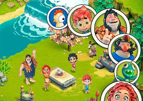 Stone Family Age Android Game Image 3