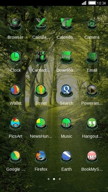 Forest CLauncher Android Theme Image 2