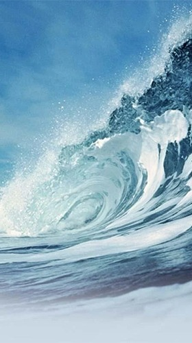 Ocean Waves Android Wallpaper Image 1