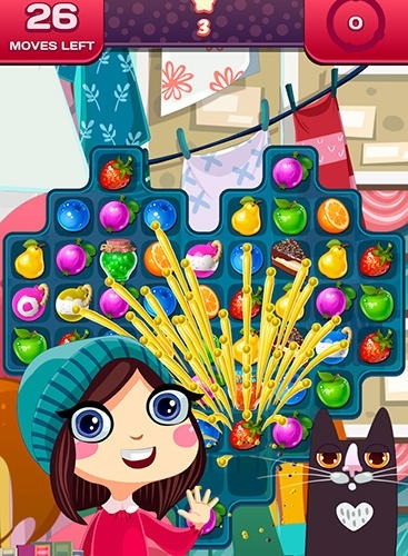 Match 3 Saga: Fruits Crush Adventure Android Game Image 3