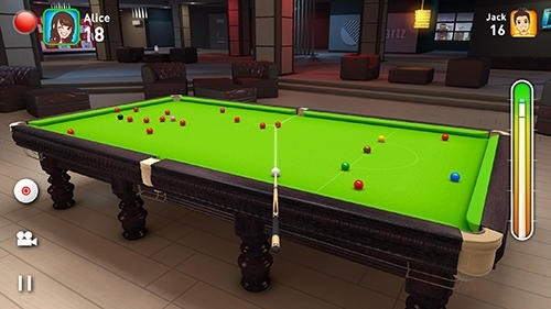 Real Snooker 3D Android Game Image 2