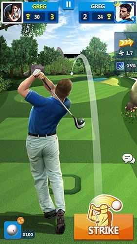 Golf Master 3D Android Game Image 2