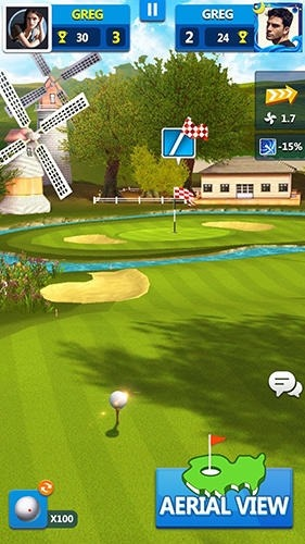 Golf Master 3D Android Game Image 3