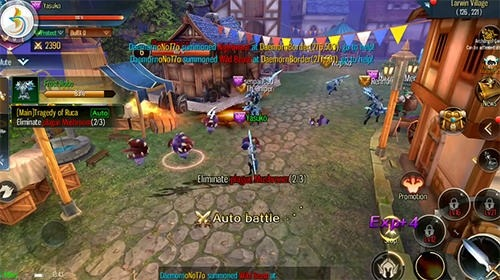 Legions: Battle Of The Immortals Android Game Image 3