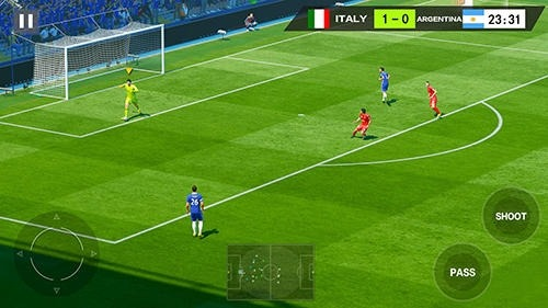 Dream Shot Football Android Game Image 3