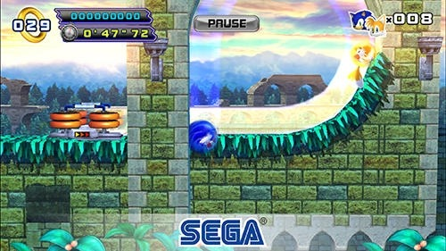 Sonic The Hedgehog 4: Episode 2 Android Game Image 3