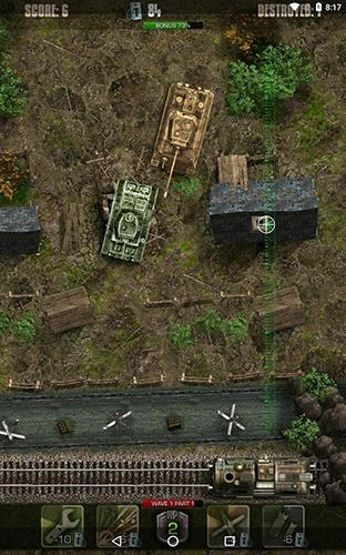 Tigers: Waves Of Tanks Android Game Image 2