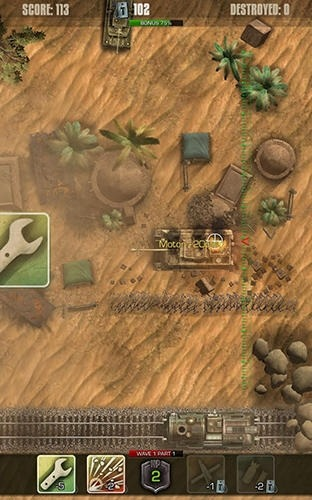 Tigers: Waves Of Tanks Android Game Image 3