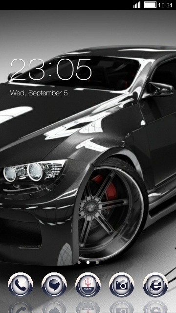 Car CLauncher Android Theme Image 1