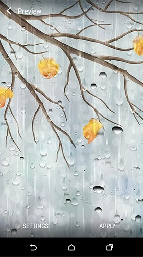 Rainy Day Android Wallpaper Image 1
