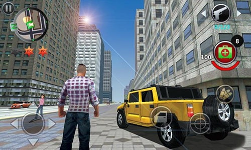 Grand Gangsters 3D Android Game Image 2