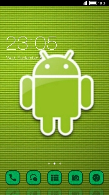 Android CLauncher Android Theme Image 1