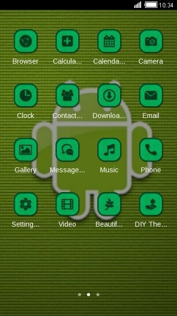 Android CLauncher Android Theme Image 2