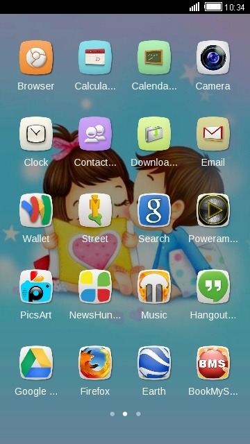 Boy & Girl CLauncher Android Theme Image 2