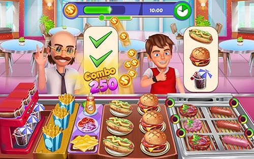 Restaurant Master: Kitchen Chef Cooking Game Android Game Image 4