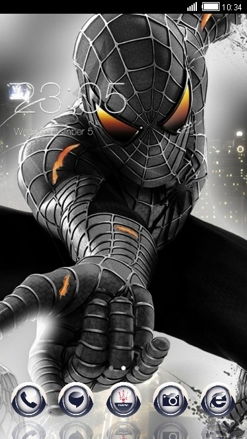Spider Man CLauncher Android Theme Image 1