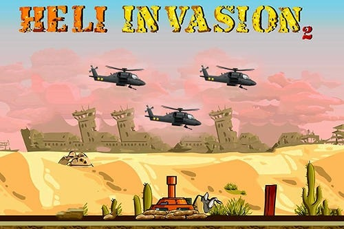Heli Invasion 2: Stop Helicopter With Rocket Android Game Image 1