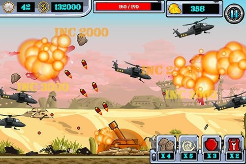 Heli Invasion 2: Stop Helicopter With Rocket Android Game Image 2