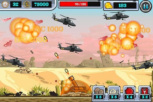 Heli Invasion 2: Stop Helicopter With Rocket Android Game Image 3