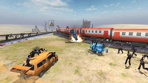 Train Shooting: Zombie War Android Game Image 3