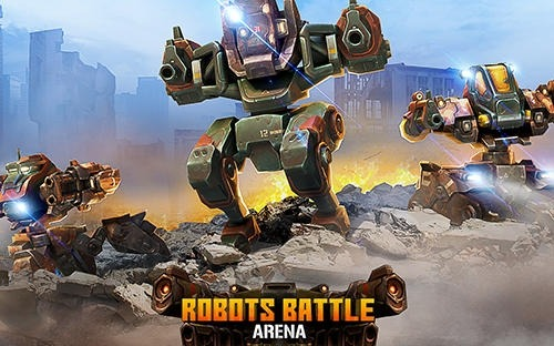 Robots Battle Arena: Mech Shooter Android Game Image 1